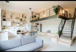 Thiết kế gác lửng tạo điểm nhấn độc đáo cho căn hộ