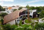 Biệt thự vườn tiết kiệm năng lượng