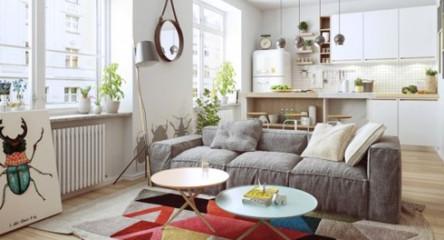 Thiết kế phòng ở mang đặc trưng nội thất Bắc Âu