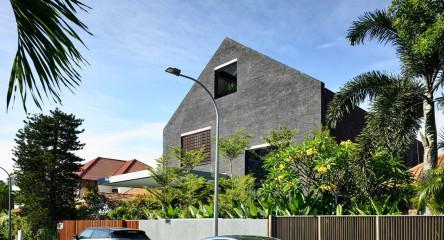 Biệt thự với căn phòng không mái | HYLA Architects