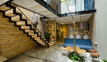 Ngỡ ngàng căn nhà hai tầng 46m2 chỉ 480 triệu đồng đẹp như mơ của vợ chồng trẻ Hà Nội
