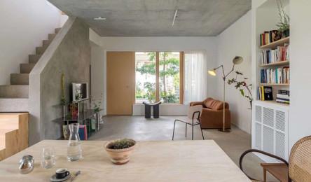 Ngôi nhà được thiết kế để thông gió và đón nắng tốt