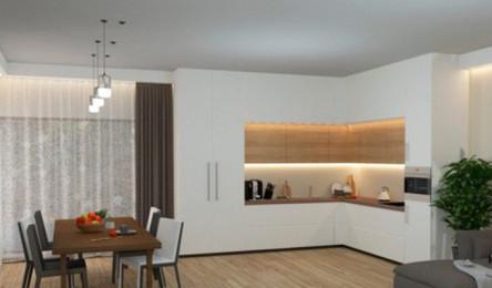Mẫu tủ bếp đẹp cho căn hộ chung cư