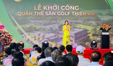 Nhiều lãnh đạo đi dự lễ khởi công dự án sân golf 'chui' ở Thừa Thiên - Huế
